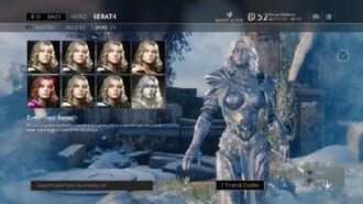 Paragon Everfrost Serath Skin Winterfest Reward