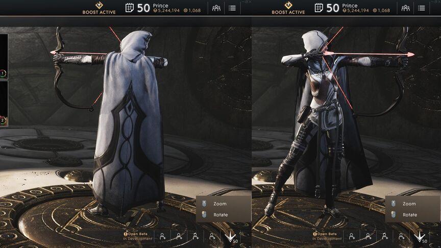 Sparrow Ivory Royal Garb Rogue skin