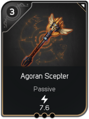 Agoran Scepter card