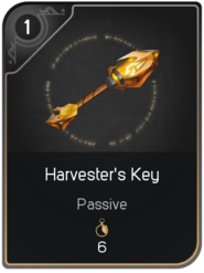 Harvester's Key card