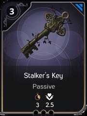 Stalker's Key card