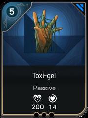 Toxi-gel card