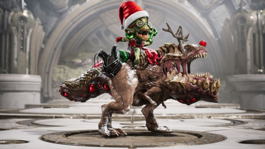 Iggy and Scorch Jingle Bombs skin