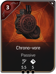 Chrono-vore card