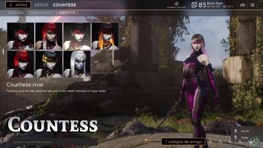 Countess Rival skin