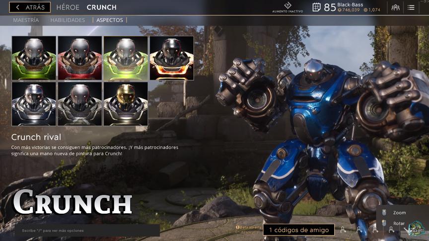 Crunch Rival skin