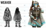 Weaver costume concept by lonsheep-dazwaro
