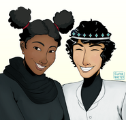 Aisha and Alec by Superwhiteys