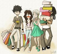 Undersiders Shopping by LinaLeeZ