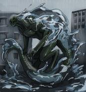 Endbringer leviathan worm by beru bera-d7ok6dd