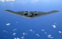 Northrop Grumman B-2 Spirit (stealth bomber)