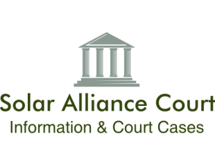 Solar Alliance Court Information and Court Cases