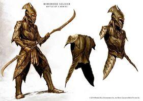 Mirkwood armoured elves