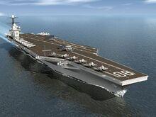 USS Enterprise (CVN-80) artist depiction