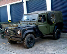 Land Rover Wolf