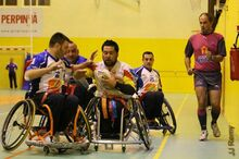 Arbitre wheeelchair rugby
