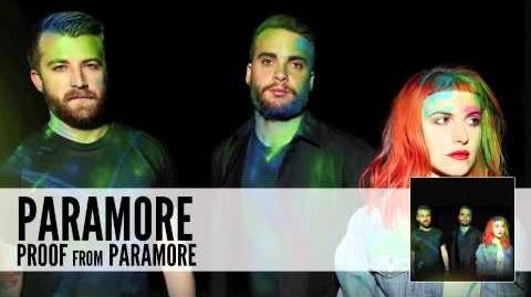 Paramore Proof (Audio)
