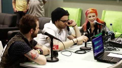 Paramore Interviewed By Richie T (2013)