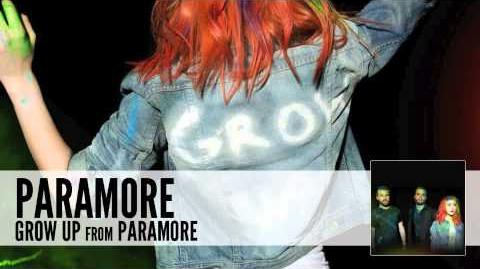 Paramore Grow Up (Audio)
