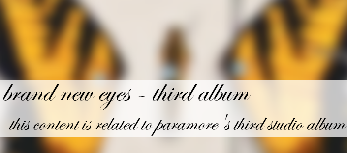 Misguided Ghosts | Paramore Wiki | FANDOM powered by Wikia