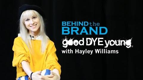 Paramore's Hayley Williams -- Good Dye Young