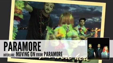 Paramore interlude Moving On (Audio)