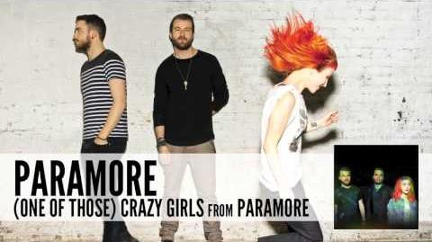 Paramore (One Of Those) Crazy Girls (Audio)