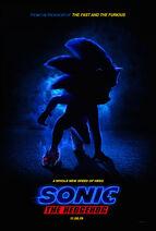 Sonic the Hedgehog 2019 Teaser Poster
