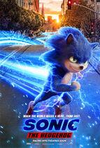 Sonic the Hedgehog 2019 Teaser Poster 03