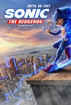 Sonic the Hedgehog UK Teaser Poster