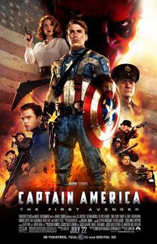 Captain America The First Avenger poster