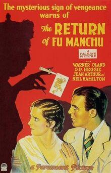 'The Return of Dr. Fu Manchu' (1930)