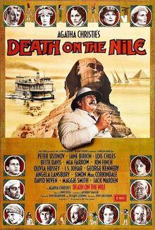 Death on the Nile UK original poster