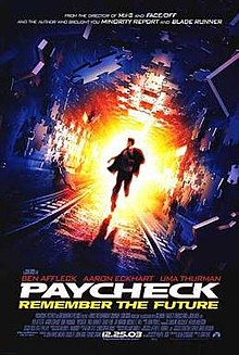 220px-Paycheck filmposter