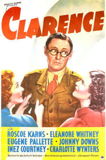 Clarence (1937 film) poster