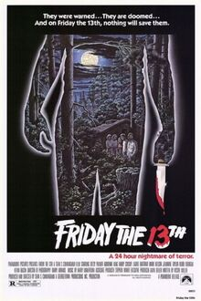 Friday the thirteenth movie poster