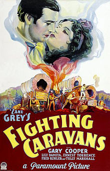 Fighting Caravans 1931 Poster