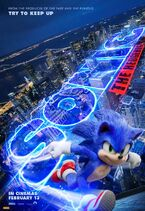 Sonic the Hedgehog Australian poster