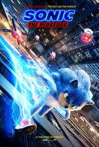 Sonic the Hedgehog 2019 Teaser Poster 02