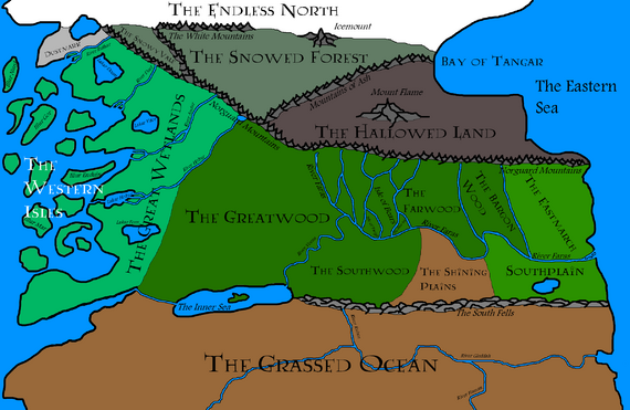 Central Kingdoms Geography