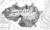 Atlantis map Kampanakis