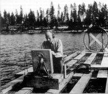 Ghost rocket search July 1946