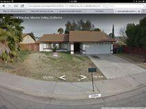 Street view of poltergeist house