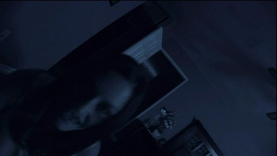Image - P-act-final face2.jpg | Paranormal Activity Wiki ... Katie Featherston Demon Face