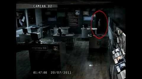 Ghost caught on camera