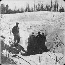 Dyatlov pass ravine