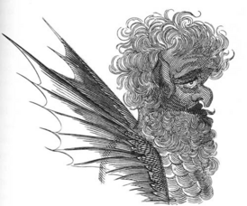 Apollyon, from Francis Barrett's The Magus