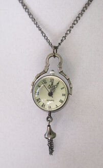 White rabbit s watch necklace by foowahu etsy-d39u0tz