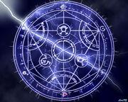 Transmutation-circle