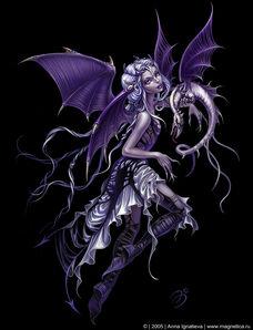 Demon-fairy-purple-angel